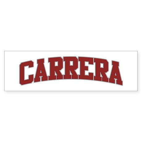 CARRERA Design Bumper Sticker