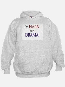I'm Hapa for Obama Hoodie