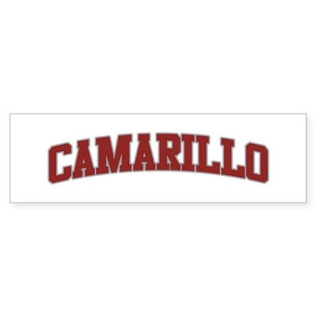 CAMARILLO Design Bumper Sticker