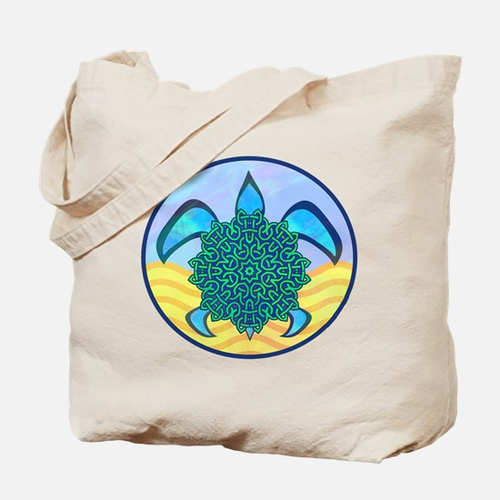 Knot Turtle Tote Bag