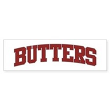 BUTTERS Design Bumper Bumper Sticker