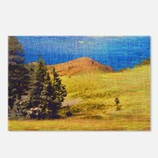 Steamboat Rock Embroidery Postcards (Package of 8)