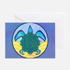 Knot Turtle Greeting Card