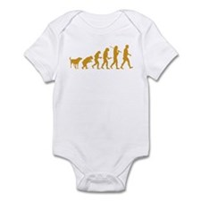 Canaan Dog Infant Bodysuit