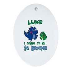 Luke - Brother To Be Oval Ornament