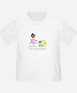I'm a big sister t-shirt: baby's sex unknown