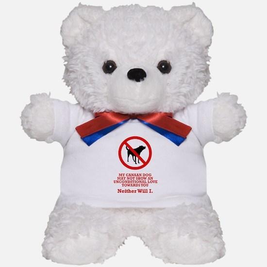 Canaan Dog Teddy Bear