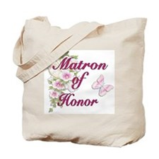 Bouquet Wedding - Matron of Honor Tote Bag