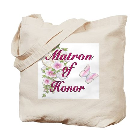 Bouquet Wedding - Matron of Honor Tote Bag