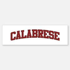 CALABRESE Design Bumper Bumper Bumper Sticker