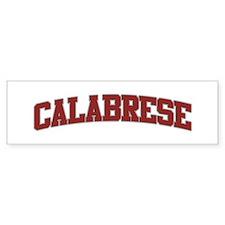 CALABRESE Design Bumper Bumper Sticker