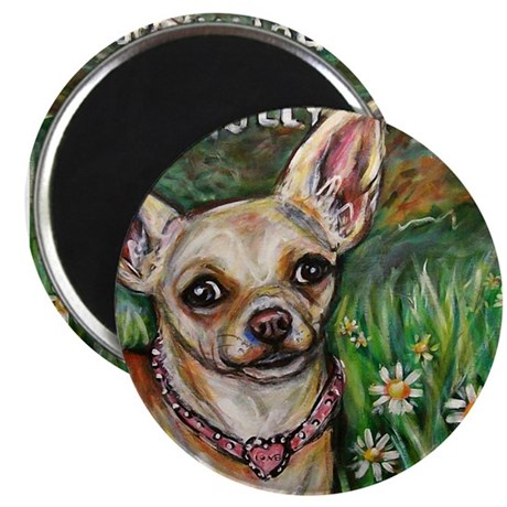 """Hollywood Chihuahua 2.25"""" Magnet (100 pack)"""