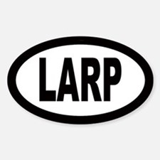 LARP Oval Decal
