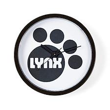 Lynx II/B Wall Clock