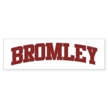 BROMLEY Design Bumper Sticker