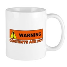'Contents are Hot' soulcleansed Coffee Mug
