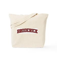 BRODERICK Design Tote Bag