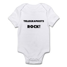 Telegraphists ROCK Infant Bodysuit