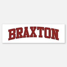 BRAXTON Design Bumper Car Car Sticker