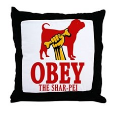 Chinese Shar-Pei Throw Pillow