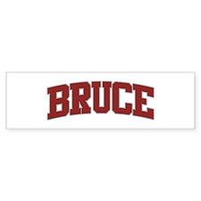 BRUCE Design Bumper Bumper Sticker