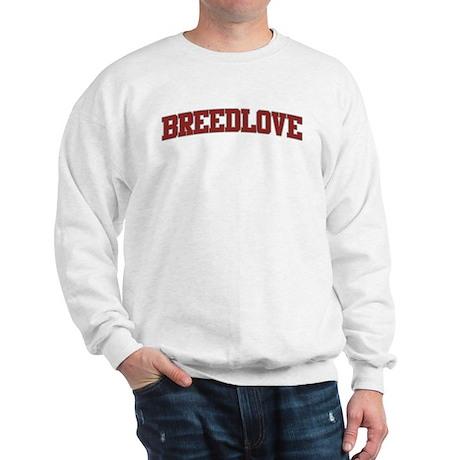 BREEDLOVE Design Sweatshirt