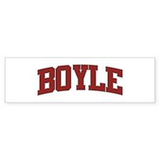 BOYLE Design Bumper Bumper Sticker