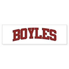 BOYLES Design Bumper Bumper Sticker