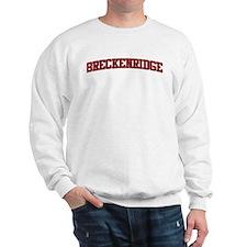 BRECKENRIDGE Design Sweatshirt