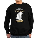 Old man photographer Sweatshirt (dark)
