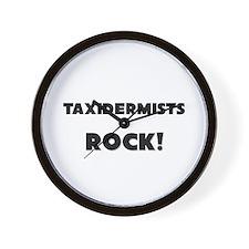 Taxidermists ROCK Wall Clock
