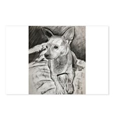 """Peanut"" a Chihuahua Postcards (Package of 8)"