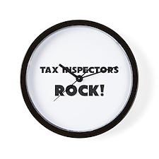 Tax Inspectors ROCK Wall Clock
