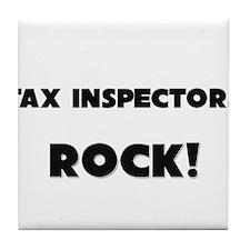 Tax Inspectors ROCK Tile Coaster