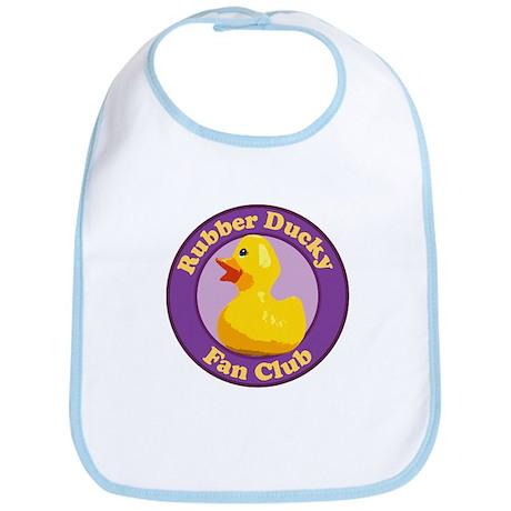 Rubber Ducky Fan Club Bib