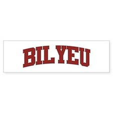 BILYEU Design Bumper Bumper Sticker