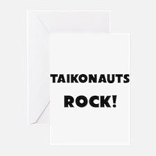 Taikonauts ROCK Greeting Cards (Pk of 10)