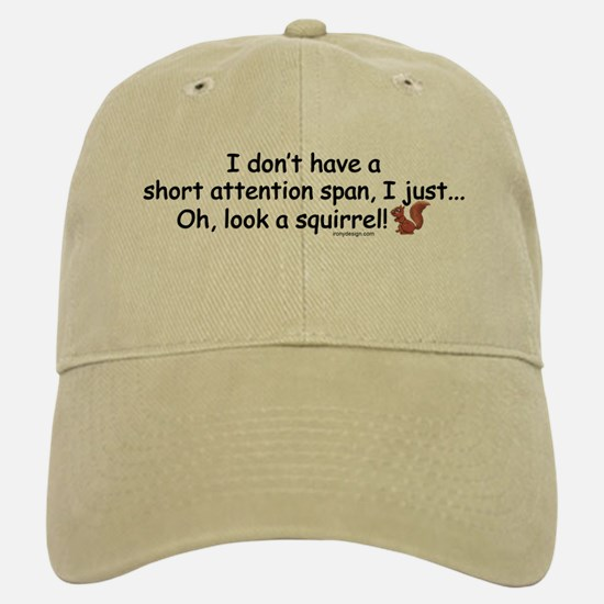 Attention Span Squirrel Hat