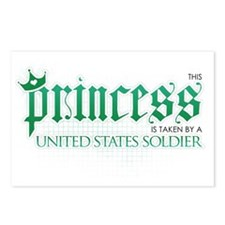 Princess Is Taken (Soldier) Postcards (Package of
