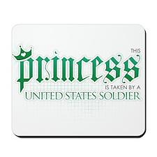 Princess Is Taken (Soldier) Mousepad