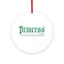 Princess Is Taken (Soldier) Ornament (Round)