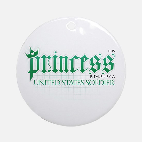 Princess Is Taken (Soldier) Ornament (Round)