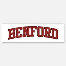 BENFORD Design Bumper Bumper Bumper Sticker