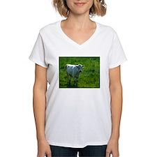 Charolais cow in field Shirt