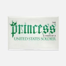 Princess Is Taken (Soldier) Rectangle Magnet