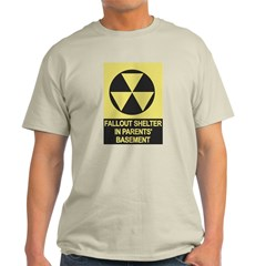 Fallout Shelter Ash Grey T-Shirt