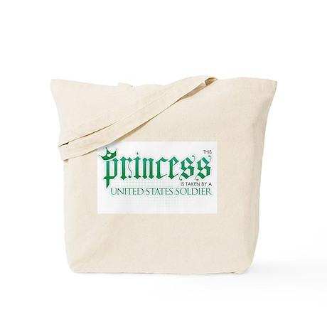 Princess Is Taken (Soldier) Tote Bag