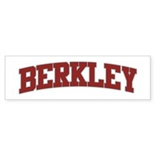 BERKLEY Design Bumper Bumper Sticker