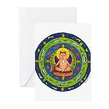 Cat Mandala Greeting Cards (Pk of 10)