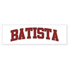 BATISTA Design Bumper Bumper Sticker